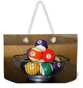 Billiard Balls Weekender Tote Bag