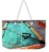 Billiards Art-pool Table Weekender Tote Bag