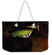 Billiards Ballet Weekender Tote Bag