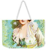 Billie Burke In The Misleading Widow 1919 Weekender Tote Bag