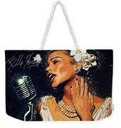 Billie Holiday Weekender Tote Bag
