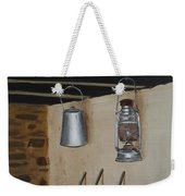Billy Can And Oil Lamp Weekender Tote Bag