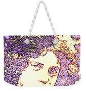 Billy Joel Pop Art Weekender Tote Bag