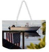 Billy's Boat Weekender Tote Bag