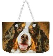 Bimbo - Bernese Mountain Dog Weekender Tote Bag