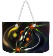 Binary Attractors Weekender Tote Bag