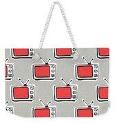 Binge Watching- Art By Linda Woods Weekender Tote Bag