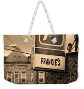 Binghampton New York - Frankie's Tavern Weekender Tote Bag