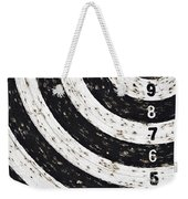 Bingo - Target With Numeral Row Weekender Tote Bag