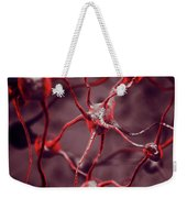 Biological Neural Network Neurons Brain Cells Scientific Medical Weekender Tote Bag