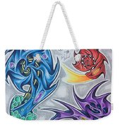 Biomech Flash Weekender Tote Bag