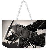 Biplane Weekender Tote Bag by Carlos Caetano
