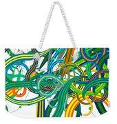 Bipolar Mania Rollercoaster Abstract Weekender Tote Bag