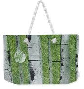 Birch - Green 1 Weekender Tote Bag by Jacqueline Athmann