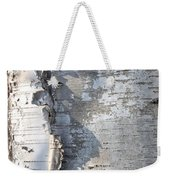 Birch Abstract 2 Weekender Tote Bag
