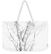 Birch Abstraction Study Weekender Tote Bag
