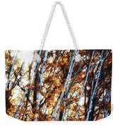 Birch And Oak And Sun Weekender Tote Bag