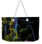 Birch And Vines Weekender Tote Bag
