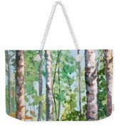 Birch Weekender Tote Bag