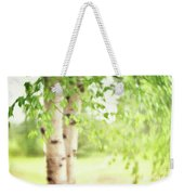 Birch In Spring Weekender Tote Bag