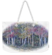 Birch Tree Gathering Weekender Tote Bag