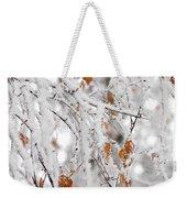Frost Birch  Weekender Tote Bag