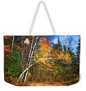 Birch Trees - Autumn Weekender Tote Bag