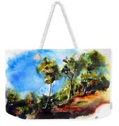 Birch Trees At Swallow Falls Weekender Tote Bag