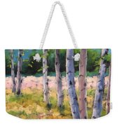 Birches 04 Weekender Tote Bag