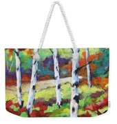 Birches 07 Weekender Tote Bag