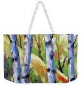 Birches 09 Weekender Tote Bag