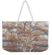 Birches In The Spring Weekender Tote Bag