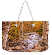 Birches On The Kancamagus Highway Weekender Tote Bag