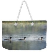 Bird Art Loons - Into The Light Weekender Tote Bag