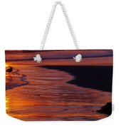 Bird At Sunset Weekender Tote Bag