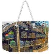 Bird Cages Vintage Photo Indonesia Weekender Tote Bag
