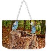 Bird Gossip Weekender Tote Bag