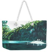 Bird Haven Weekender Tote Bag