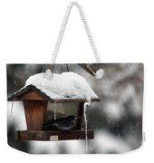 Bird House Blues Weekender Tote Bag