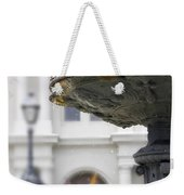 Bird In A Fountain Weekender Tote Bag