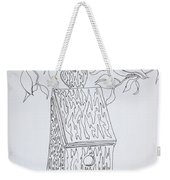 Bird In A Line Weekender Tote Bag