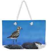 Bird In Blue Weekender Tote Bag