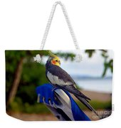 Bird In Paradise Weekender Tote Bag