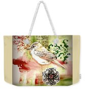Bird Love Weekender Tote Bag