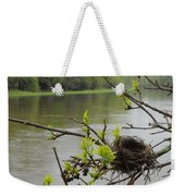 Bird Nest In Ash Tree Branches Weekender Tote Bag