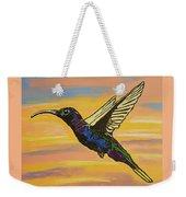 Bird Of Beauty, Superwoman Weekender Tote Bag