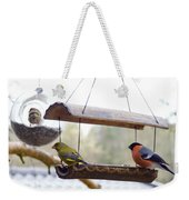 Bird Of Europe.norway Weekender Tote Bag