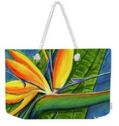 Bird Of Paradise #300b Weekender Tote Bag