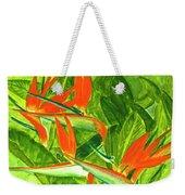 Bird Of Paradise Flower #55 Weekender Tote Bag