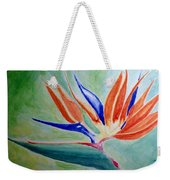 Bird Of Paradise, Noon Weekender Tote Bag